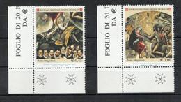S.M.O.M.- 2005 - S. Giovanni Battista - Patrono Ordine - 2 Valori - Nuovi ** - Con Bordo Di Foglio Angolare - (FDC30255) - Malte (Ordre De)