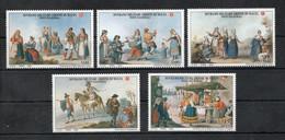 S.M.O.M.- 2002 - Antichi Costumi E Tradizioni - 5 Valori - Nuovi ** - (FDC30256) - Malte (Ordre De)