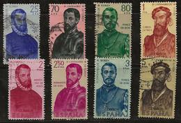 Espagne 1960 N° Y&T : 979 à 986 Obl. - 1951-60 Gebraucht