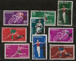 Espagne 1960 N° Y&T : 987 à 996 Obl. - 1951-60 Gebraucht