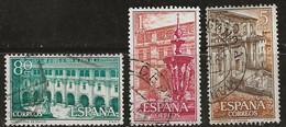 Espagne 1960 N° Y&T : 999 à 1001 Obl. - 1951-60 Gebraucht
