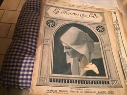 La Femme Chez Elle FRANCOIS TEDESCO Planche à Dessin '1914 En L Eta - 1901-1940