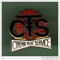 CINEMA TELEC SERVICE *** Signe PIN'S INDUSTRIE *** 2101 - Cinema
