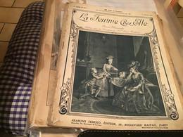 La Femme Chez Elle FRANCOIS TEDESCO Planche à Dessin '1914 En L état - 1901-1940
