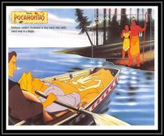 80103 Guyana Pocahontas Disney Bloc (BF) Neuf ** MNH - Guyana (1966-...)