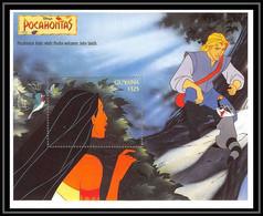80105 Guyana Pocahontas Disney Bloc (BF) Neuf ** MNH - Guyana (1966-...)
