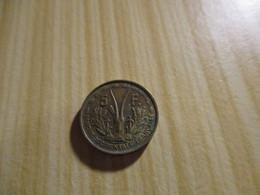 Afrique Occidentale Française - 5 Francs 1956.N°2762. - Colonie