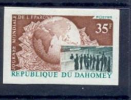 24/ - Dahomey N° 347 Non Dentelé Imperf - Journée Mondiale De L'épargne Bank - Unclassified