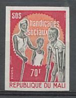 Mali 078 Non Dentelé Imperf ** Mnh N° 205 Handicapés Handicap Sociaux - Mali (1959-...)