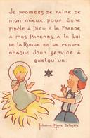 PIE.21-T.PL-928 : IMAGE RELIGIEUSE. ILLUSTREE PAR JEHANNE-MARIE DELASTRE - Devotion Images
