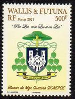 Wallis Et Futuna 2021 - Religion, Blason - Neuf // Mnh - Unused Stamps