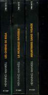 Coffet De 3 Volumes : Meurtriers Sans Visage ; La Muraille Invisible ; Les Chiens De Riga - Mankell Henning - 2004 - Other