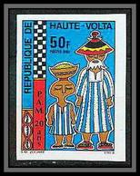91046 Haute-Volta N° 569 Pam Food Programme Alimentaire Non Dentelé Imperf ** MNH - Upper Volta (1958-1984)