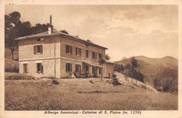 """2156"""" CULMINE DI SAN PIETRO (BERGAMO) ALBERGO INVERNIZZI (MT.1258)"""" ANIMATA POSTA MILITARE - Bergamo"""