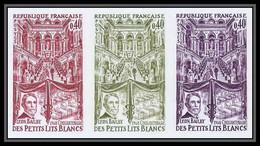 France N°1575 Bal Petits Lits Blancs Bailly Compositeur Musique Music Trial Color Proof Non Dentelé Imperf ** MNH - Ungezähnt