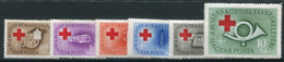 HUNGARY 1957 Postal Officials Hospital Charity  LHM / *.  Michel 1490-95 - Ungebraucht