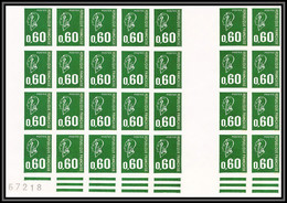 France N°1814 Bequet Bloc De 28 Interpanneaux Non Dentelé ** MNH (Imperf) - Ungezähnt