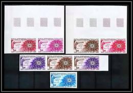 France N°1844 Convention Du Mètre Métrologie Metrology 1975 Essai (trial Color Proof) Non Dentelé Imperf ** MNH - Probedrucke