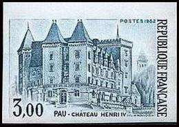 France N°2195 Chateau (castle) Henri IV (roi King) Pau Non Dentelé Imperf ** - Ungezähnt