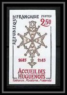 France N°2380 Révocation De L'Edit De Nantes Louis XIV Non Dentelé ** MNH (Imperf) - Ungezähnt