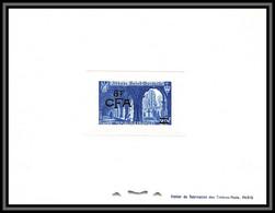 France / Cfa Reunion N°302 842 Abbaye De Saint-Wandrille Church épreuve De Luxe (deluxe Proof) - Epreuves De Luxe