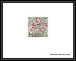 France - N°1930 épreuve De Luxe (deluxe Proof) Société Nationale D'horticulture Fleurs (fleur Flower Flowers) - Altri