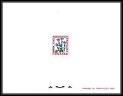 France - Taxe N°96 Gentiane Gentian Fleurs (fleur Flower Flowers) - Altri