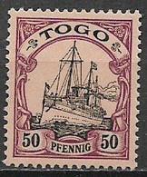 GERMANIA REICH COLONIA  TOGO  1900  ORDINARIA YVERT.14  NUOVO SENZA GOMMA VF - Kolonie: Togo