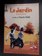 CP PUBLICITAIRE FILM LE JARDIN - Unclassified