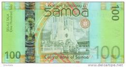SAMOA P. 43a 100 T 2008 UNC - Samoa