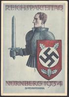 AK Reichsparteitag Nürnberg 5.-10. 9.1934 Propaganda  (65030 - Unclassified