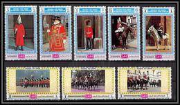 Yemen Royaume (kingdom) - 4153b N°1016/1023 A PHILYMPIA 70 LONDON 1970 Royal Horse Guard Trafalgar Londres ** Mnh - Yemen