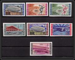 0219c/ Umm Al Qiwain N°19/25 B Tokyo 1964 Non Dentelé Imperf ** MNH Jeux Olympiques Olympic Games - Umm Al-Qiwain