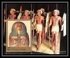 510 Fujeira MNH ** Bloc N° 119 A Egyptian Art Egypte Egypt Sarcophagus - Sarcophage - Fujeira