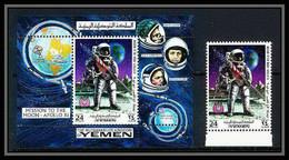 759f Yemen Kingdom MNH ** Mi N° 798 A + Bloc 165 A First Manned Moon Landing Espace (space) Apollo 11 - Asia