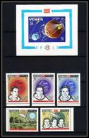 761e Yemen Kingdom MNH ** Mi N° 652 / 656 A + Bloc 150 B 1st Lunar Mission Apollo 8 Espace (space) - Asia