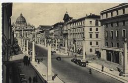 ROMA VI DELLA CONCILIAZIONE E S. PIETRO VIAGGIATA 1964 - San Pietro
