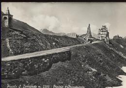 PICCOLO SAN BERNARDO OSPIZIO E MONUMENTO VIAGGIATA 1961 + 2 TIMBRI SPECIALI - Aosta