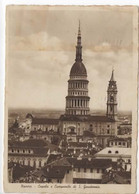 Novara Cupola E Campanile Di San Gaudenzio Contenuto Bellico Viaggiata 1943 - Novara