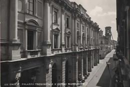 CHIETI PALAZZO PROVINCIALE E CORSO MARRUCINO VIAGGIATA 1952 PERFETTA - Chieti