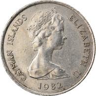 Monnaie, Îles Caïmans, 10 Cents, 1982, TTB, Copper-nickel, KM:3 - Cayman Islands