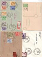 Deutschland , 8 Alte Briefe/Karten - Non Classificati
