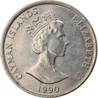 Monnaie, Îles Caïmans, 10 Cents, 1990, TTB+, Copper-nickel, KM:89 - Cayman Islands