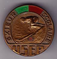 Brevet De Skieur Scolaire. 1939. USEP. Union Sportive De L'Enseignement Du Premier Degré. Peint. SM. - Other