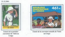 COB  3048/3049 MNH  - Emission Commune -  Timbres Du Congo - Unused Stamps