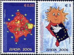 CEPT / Europa 2006 Kosovo N° 43 Et 44 ** L'intégration - 2006