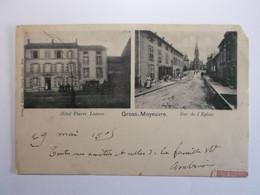 MOYEUVRE-GRANDE  Hotel Pierre Losson - Rue De L'Eglise - Other Municipalities