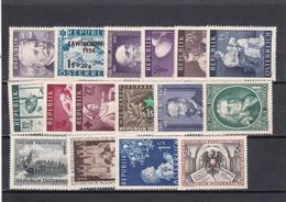Österreich, Kpl. Jahrgang 1954** (T 20256) - Full Years