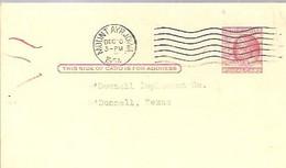 STATIONERY 1954 MOUNT AYR.IOWA - 1941-60