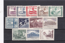 Österreich, Kpl. Jahrgang 1955** (T 20257) - Full Years